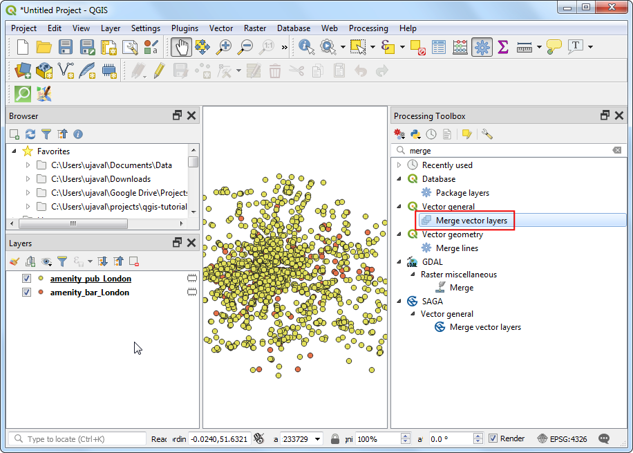 Basic Raster Styling and Analysis — QGIS Tutorials and Tips